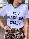Blusa Crazy