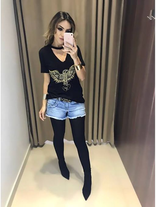 c59d0c039 Shorts Jeans Monique - Estacao Store