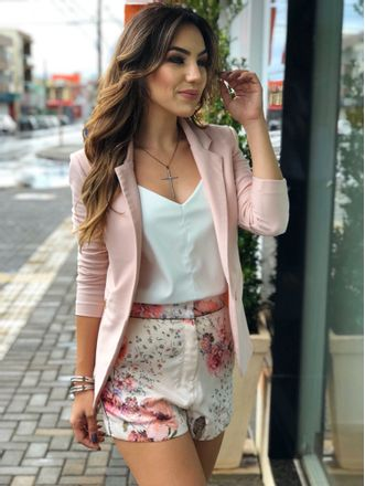 Blazer Power rosa