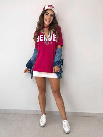 T-shirt-Heaven-Choker-Cherry