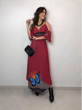 Vestido-Longo-Borboleta
