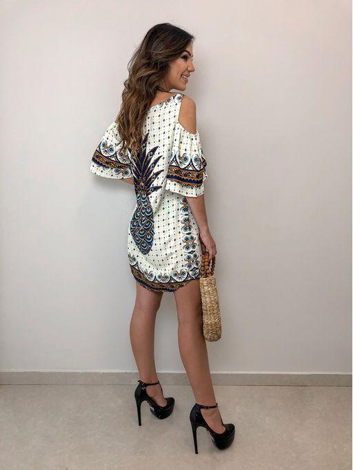 eaca5888a Vestido Babado Lenco do Sol - Estacao Store