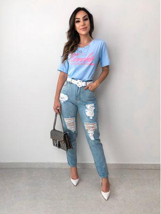 T-shirt-Touche-Azul