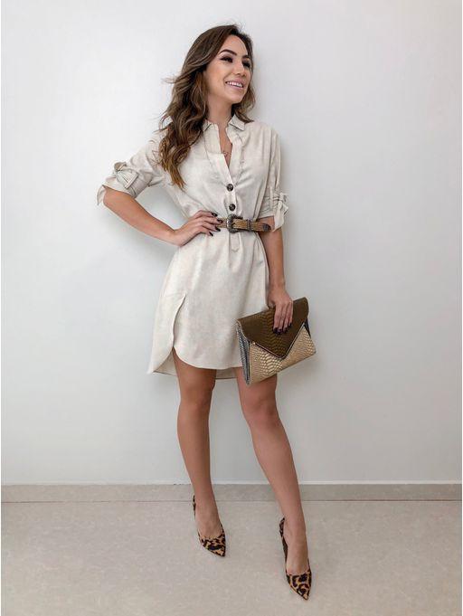 62815418f04d7 Vestido Camisa Sandy - Estacao Store