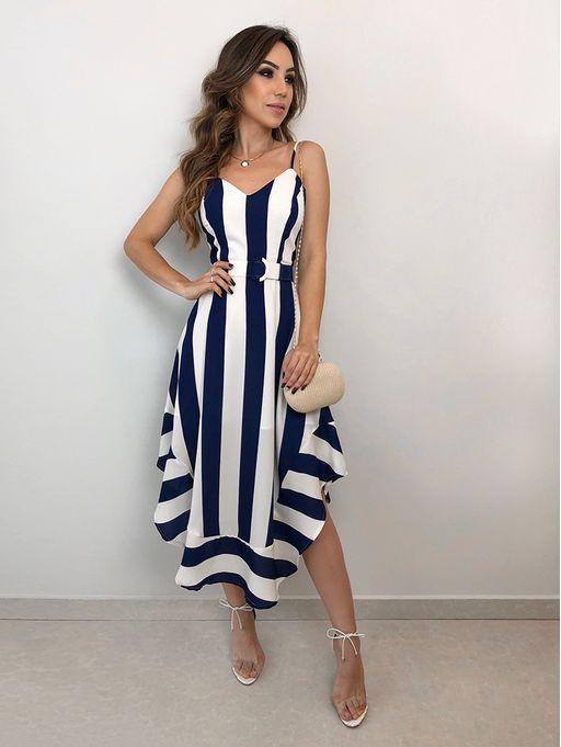 a4479820de9a Vestido Listras Serena - Estacao Store