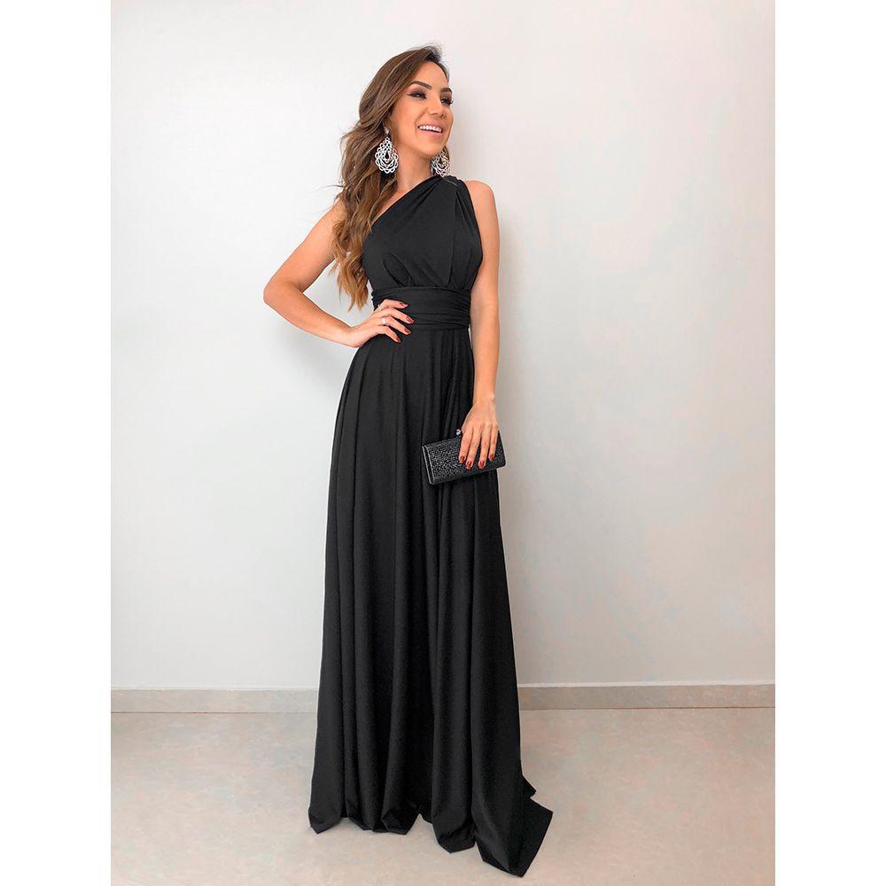Vestido-Longo-Maluma-Preto
