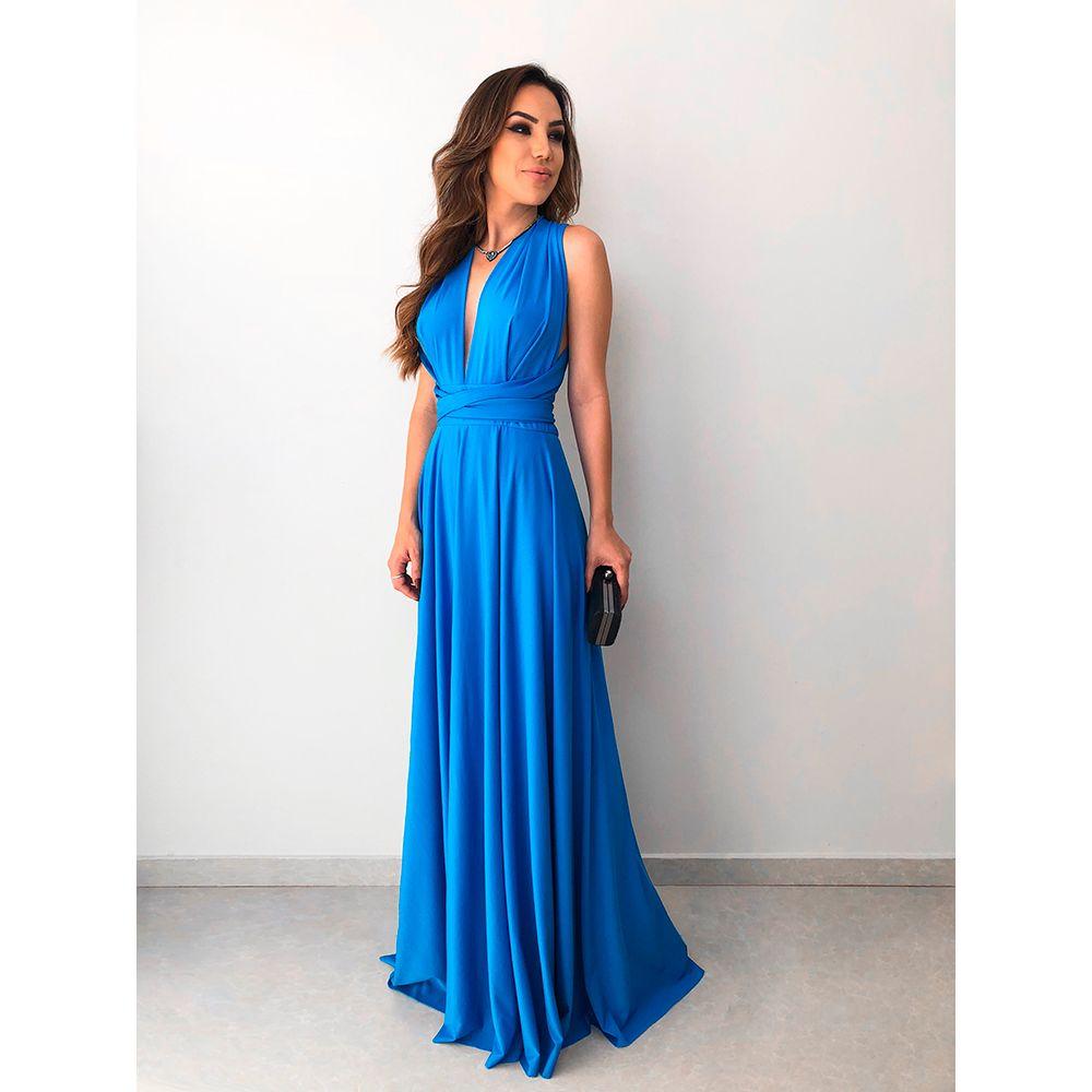 Vestido-Longo-Maluma-Azul