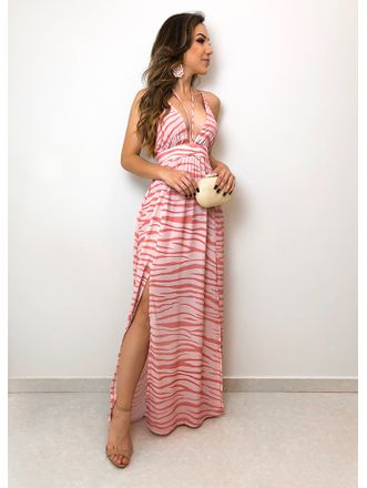 Vestido-Longo-Animal-Print-Elza-Rose