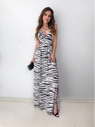 Vestido-Longo-Animal-Print-Elza