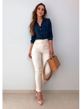Camisa-Thais-Azul-Marinho