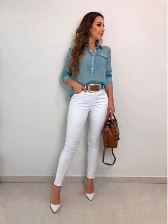 Camisa-Thais-Azul-Claro