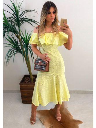 Vestido-Midi-Laise-Fresh-Amarelo