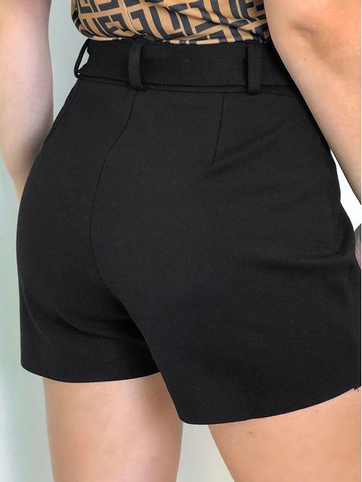 Saia-Shorts-Ami-Roma-Preto