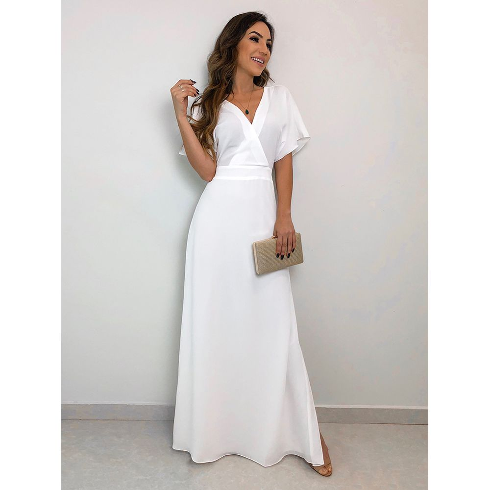 Vestido-Longo-Crepe-Ivana-Off