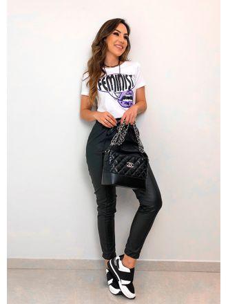 T-shirt-Feminist-Branca