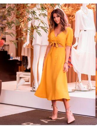 Vestido-Mostarda-Solange