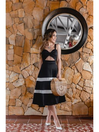 Vestido-Fashion-Black-White