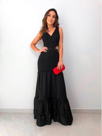Vestido-Longo-Nathiele-Preto