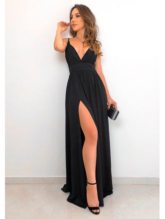 Vestido-Viscose-Soberana-Preto
