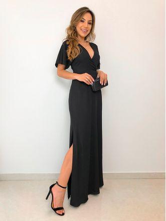 Vestido-Longo-Crepe-Ivana