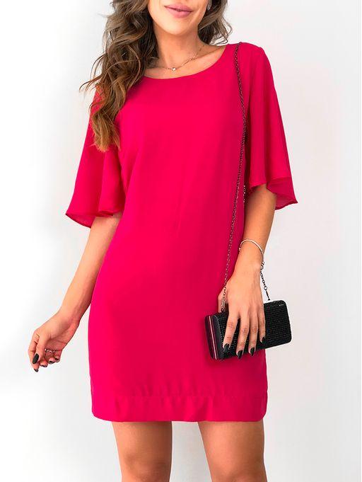 Vestido-de-Crepe-Luiza-Pink