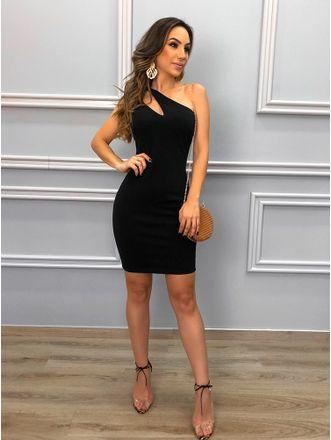Vestido-Scuba-Black