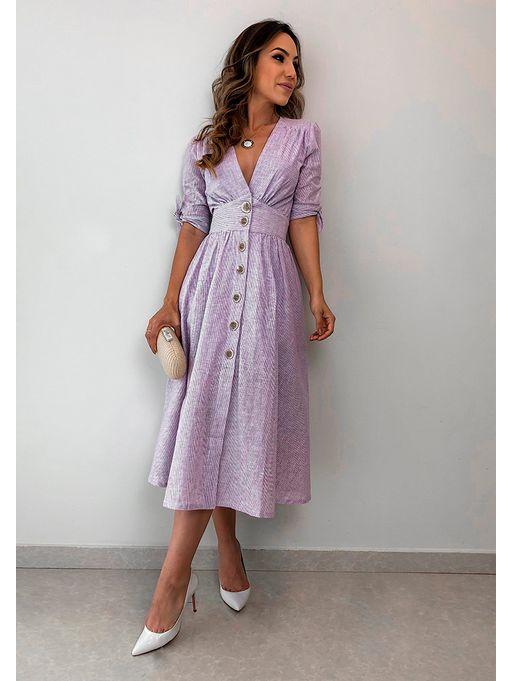 ad24aea8f Vestido Linho Tayna - Estacao Store