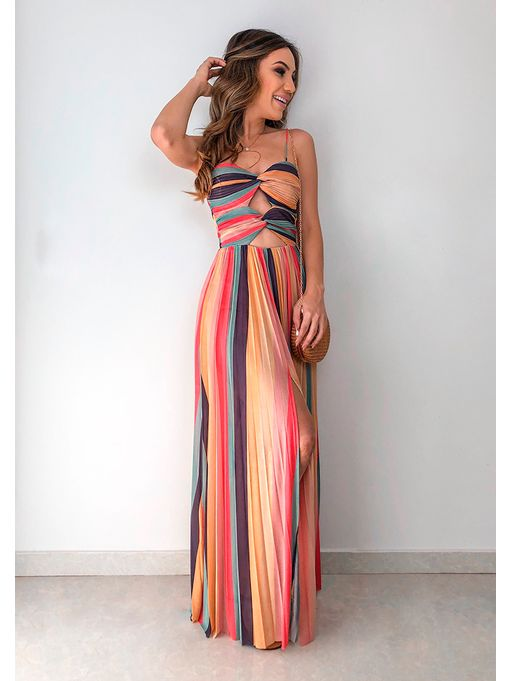 ea0979b287 Vestido Longo Tule Marilia - Estacao Store