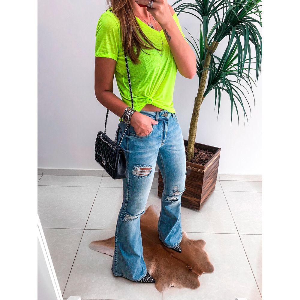 Calca-Midi-Flare-Escocia-Jeans