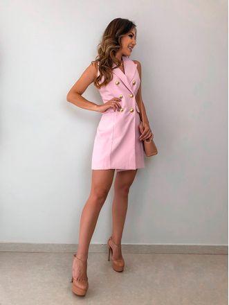 Vestido-Botoes-Dourados-Carla-Pink