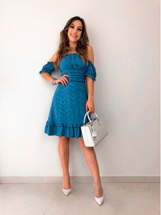 Vestido-Ruffles-Azul