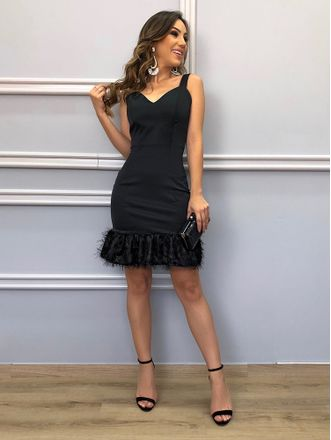 Vestido-Party-Black
