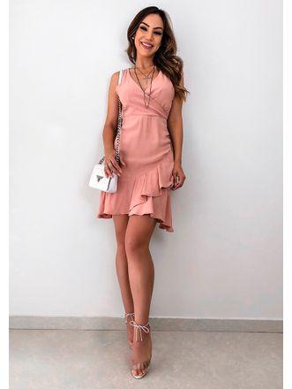 Vestido-Crepe-Transpassado-Cibele-Rose