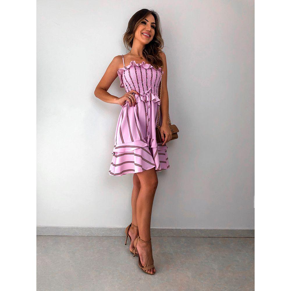 Vestido-Crep-Strips-Barcelona