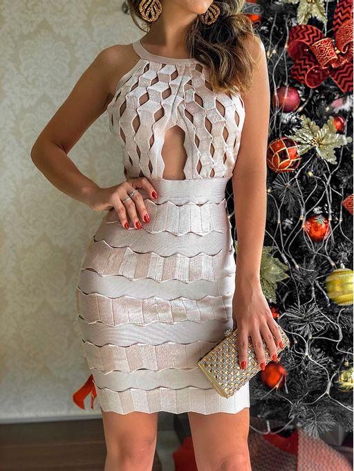 Vestido-Bandagem-Greek-Veneza-Rose