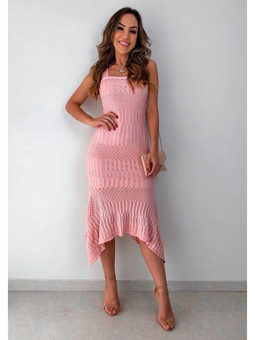 Vestido-Midi-Suelen-Rose