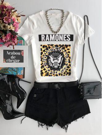 T-shirt-Ramones-Creme-