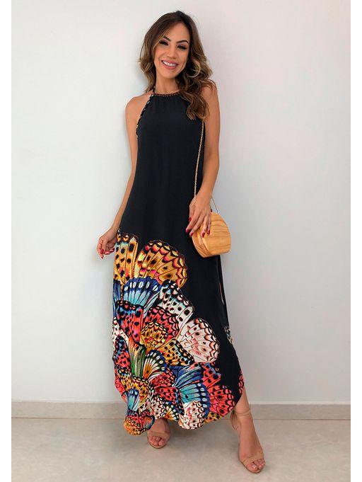110c0b1fe Vestido Chuva de Borboleta Farm - Estacao Store