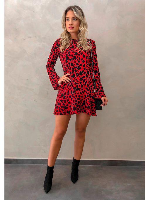 Vestido-Sharon-Vermelho
