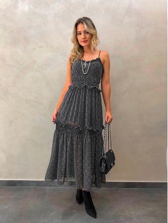 Vestido-Midi-Crepe-Geometrico-Preto