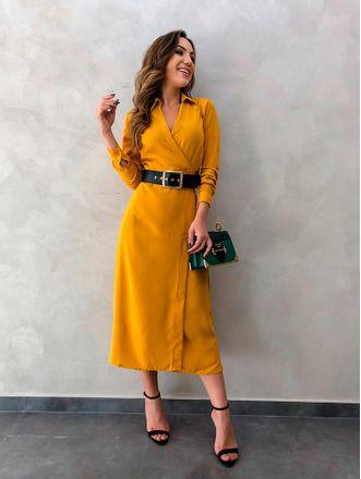 Vestido-de-Crepe-Naiane