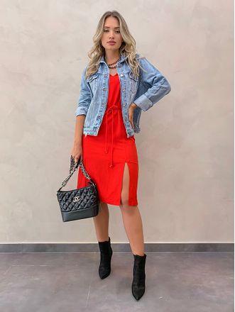 Vestido-Midi-Renata-Vermelho