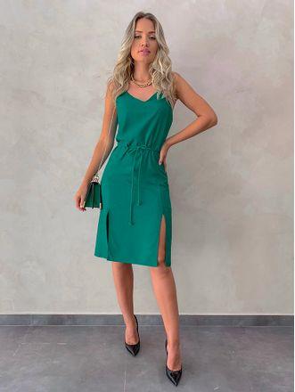 Vestido-Midi-Renata-Verde
