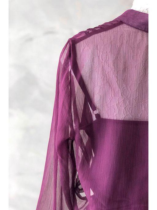 Vestido-Longo-Silk-Roxo