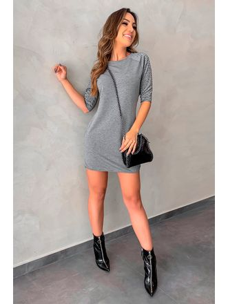 Vestido-Manga-Pedraria-Mescla