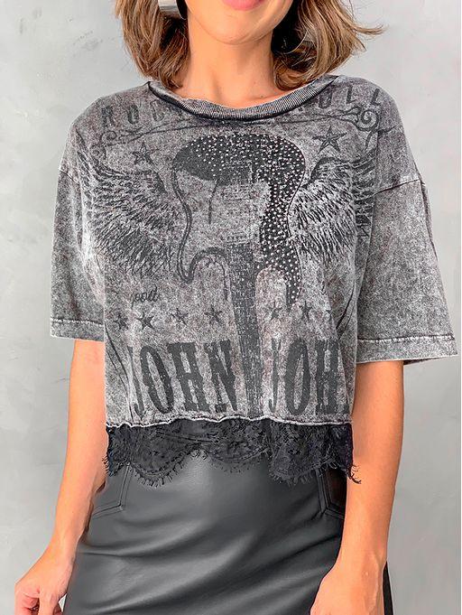 T-shirt-mc-Guitar-Lace-John-John