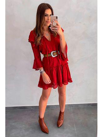 Vestido-Curto-Silk-Crepom-Vermelho