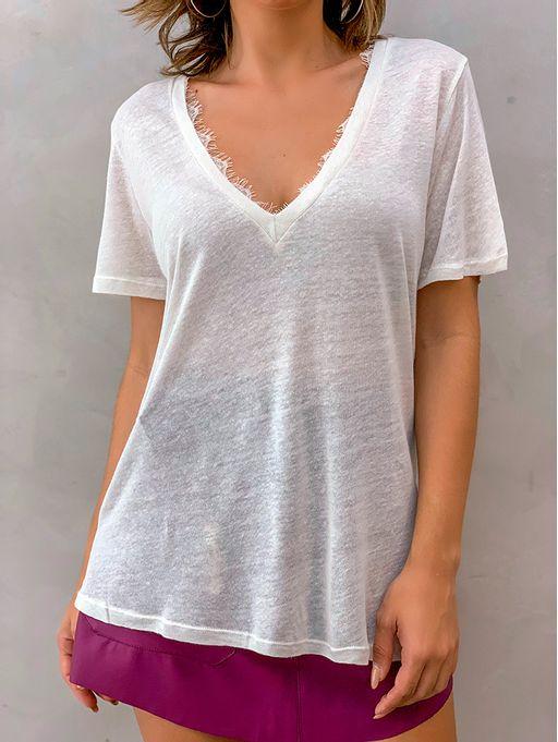 T-shirt-Decote-v-Tania-Off