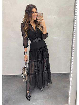 Vestido-Longo-Silk-Preto