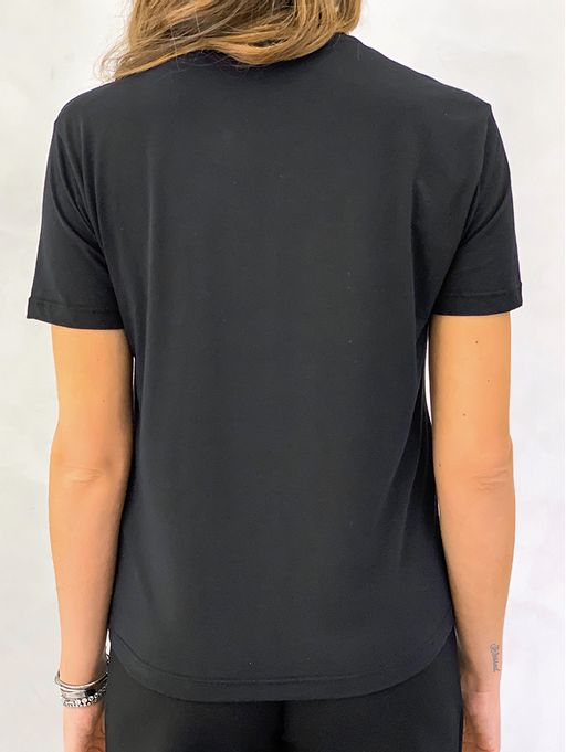 T-shirt-Better-Late-Preto